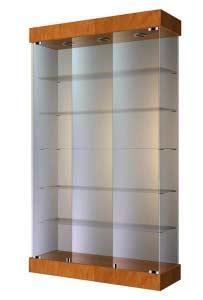 Широкая стеклянная витрина ВС-120