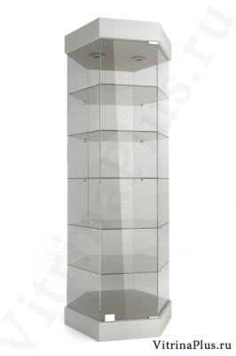 Выставочная стеклянная витрина ШВС-80