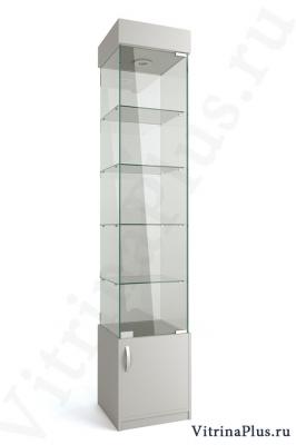 Стеклянная витрина с накопителем ВСН-40
