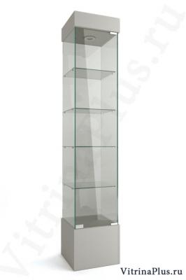 Стеклянная витрина на подиуме ВСП-40